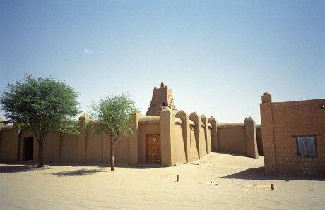 Die Sankoré Universität in Timbuktu, Mali