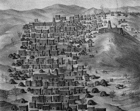 Die malische Stadt Timbuktu 1828