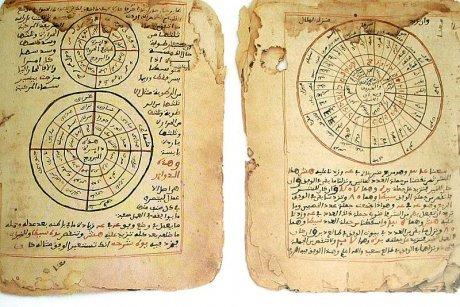Zwei Handschriften über Astronomie
