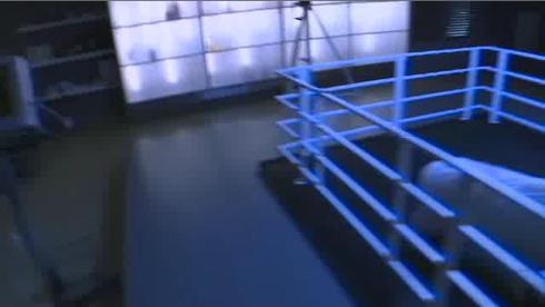 innenbeleuchteter Chemikalienschrank