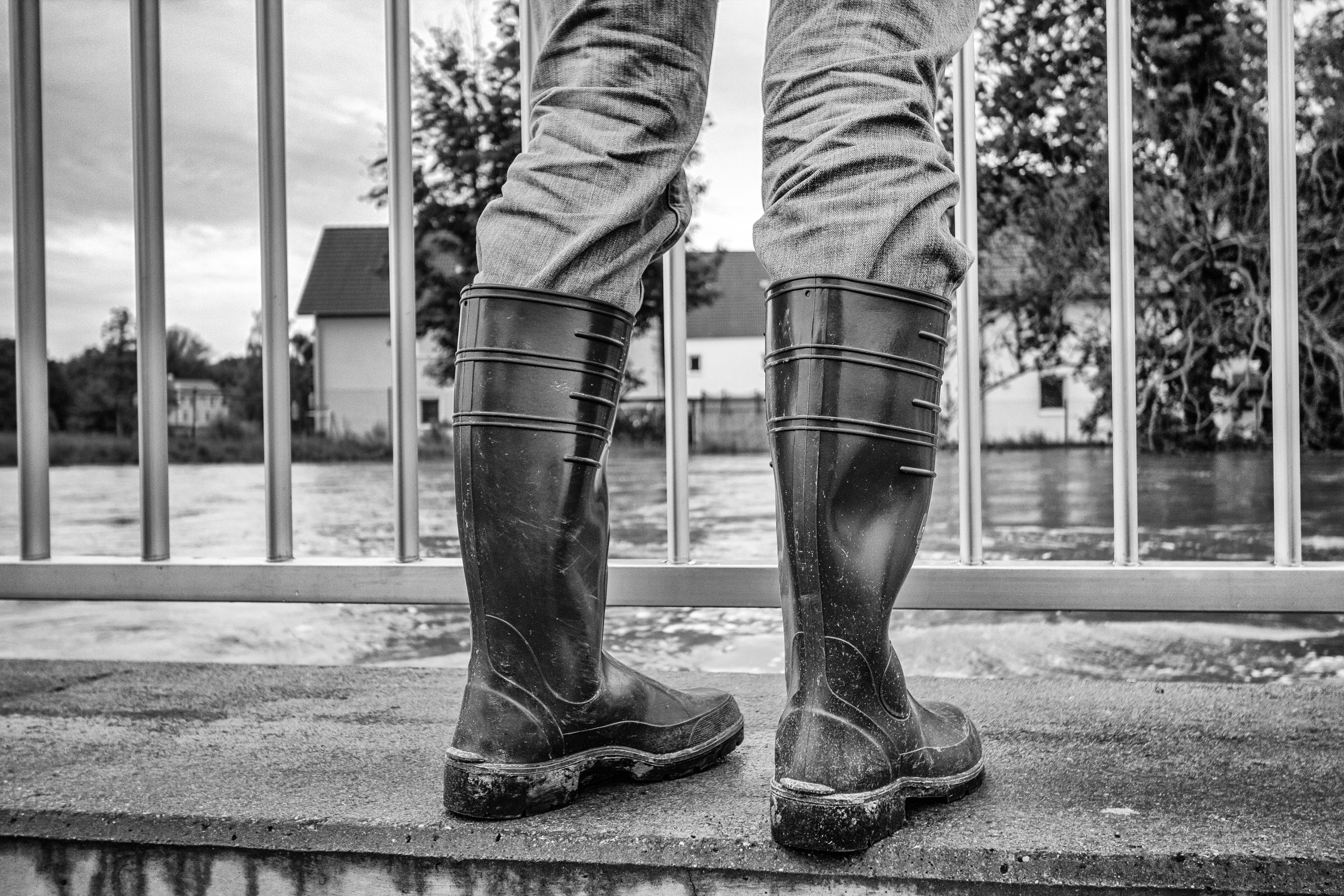 Hochwasser 2013. Foto: Gunnar Dreßler