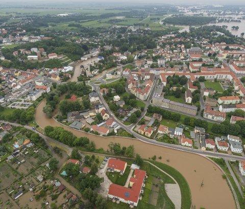 Hochwasser in Eilenburg