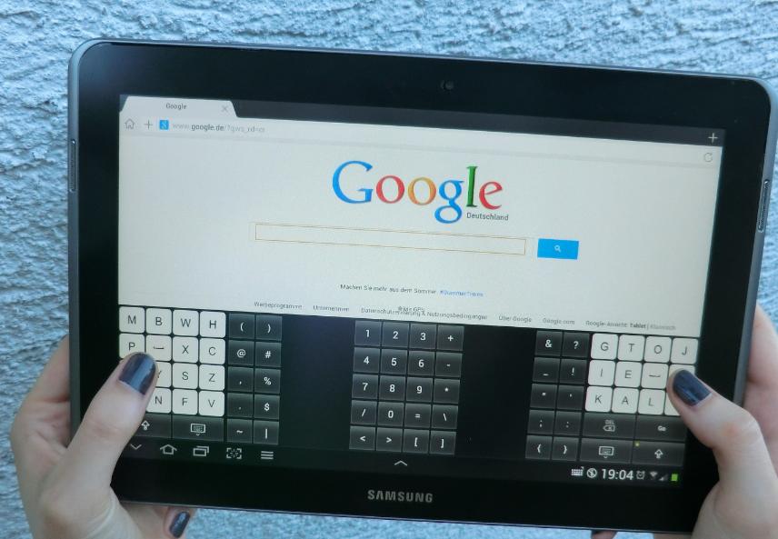 kalq tastatur schneller schreiben auf tablets und. Black Bedroom Furniture Sets. Home Design Ideas