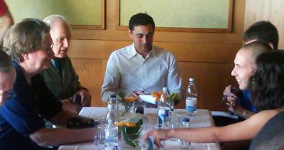 Lindauer Nobelpreisträgertreffen 2010