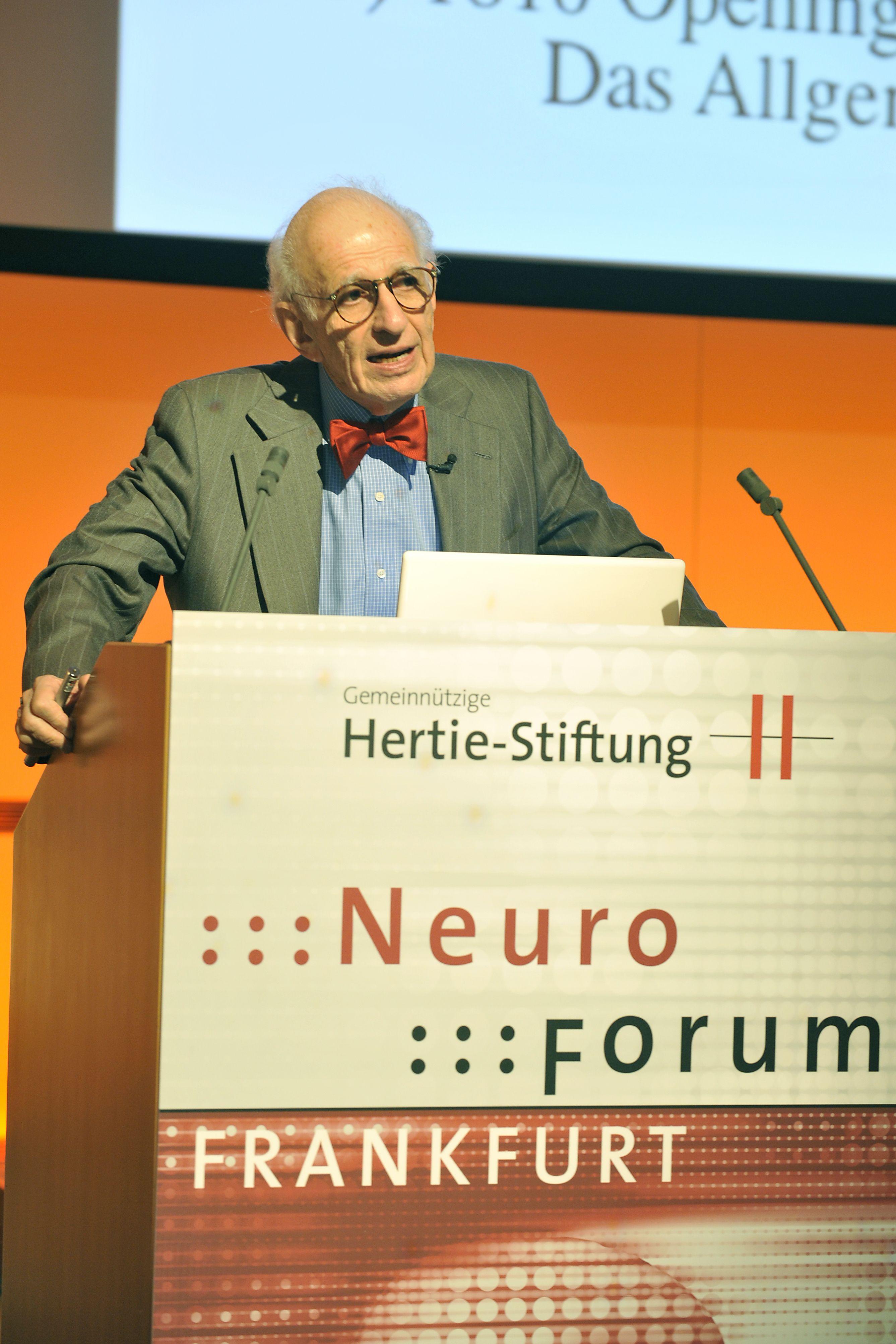 Eric Kandel auf dem Neuroforum 2008