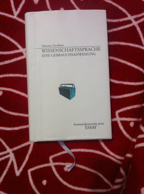 Groebner: Wissenschaftssprache (Cover)