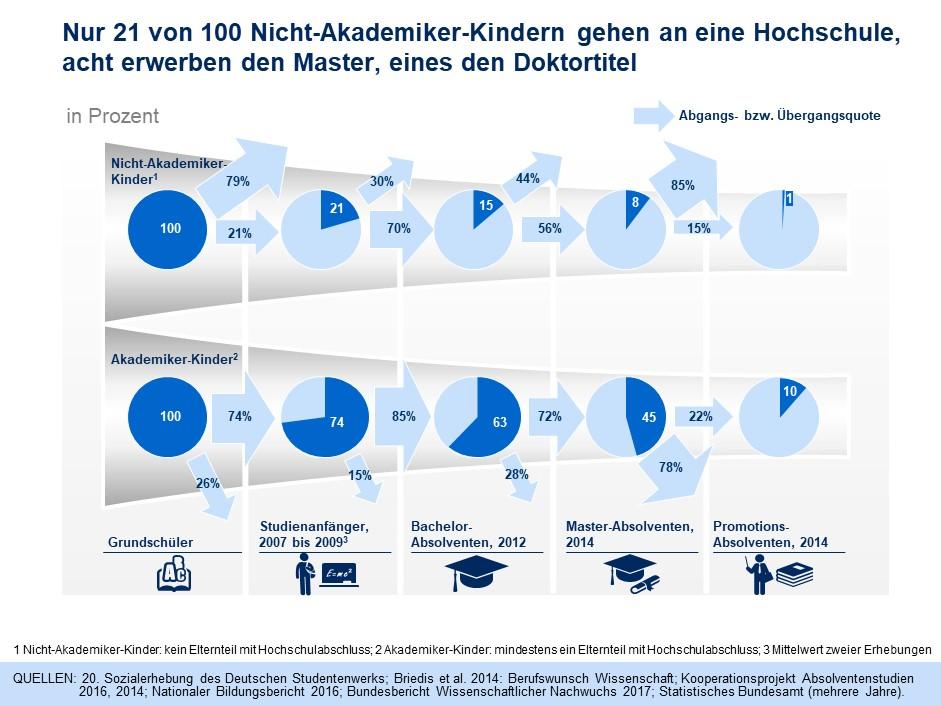Bildungschancen in Deutschland: Von der Grundschule bis zur Promotion